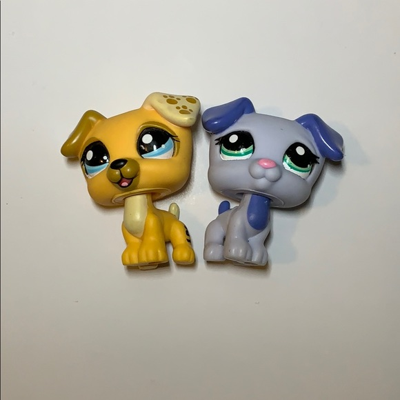Hasbro Other - LPS littlest pet shop jack Russell dog set